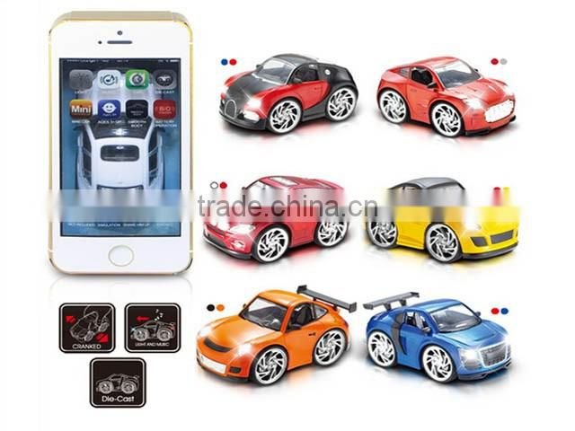 Hot Selling Kid Toy Q Version Of Alloy Car Electric Die-cast Car With Induction And hand,Wholesale China Metal Toy BO Car