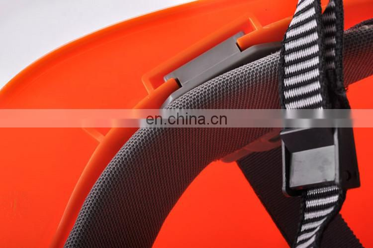 four point fixing plastic harness helmet,CE EN397 safety helmet,safety helmet with chin strap