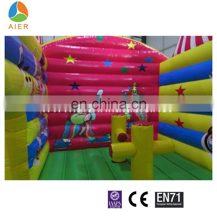 clown obstacle course equipment Inflatable obstacle combo course for playground