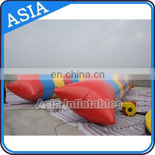 Inflatable Water Blob For Sale , Funny Water Toy Inflatable Jump Pillow