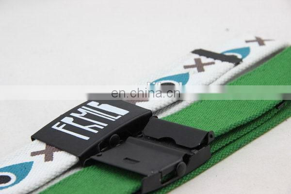 Canvas Belt With Full Printing Car Seat Belt Webbing