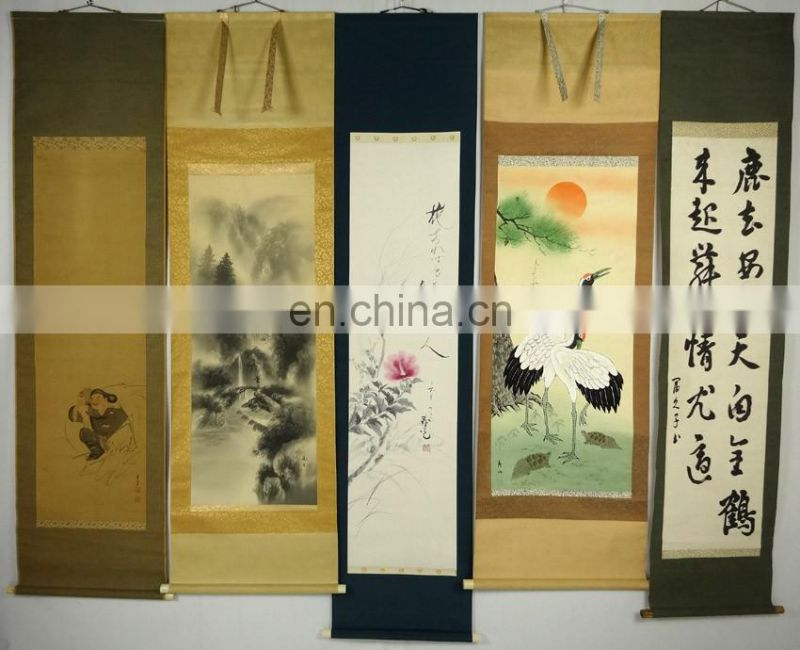 "Traditional Japanese vintage pictures Hanging scroll picture ""Kakejiku"""
