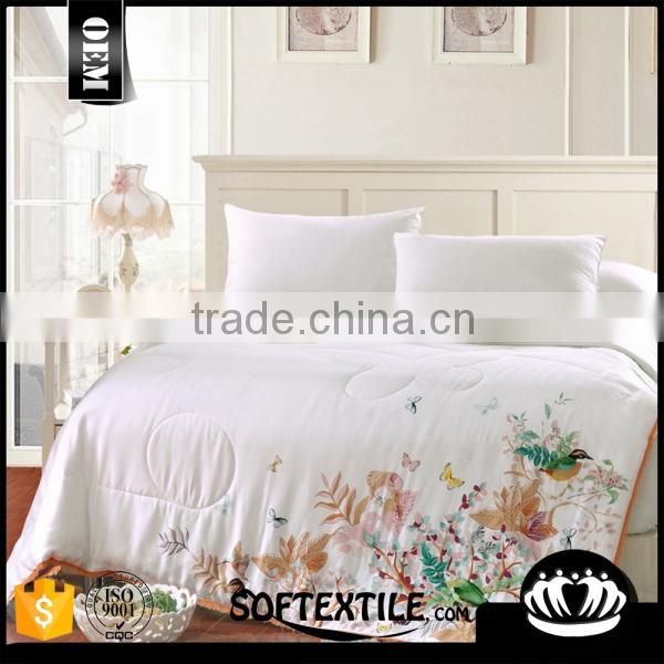 Wholesale various materials print bed sheet set