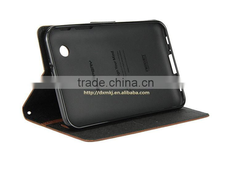 h-qTexture Leather Case cover For Sony Xperia Tablet Z with shoulder neck strap LOGO custom shenzhen