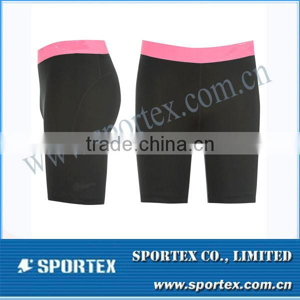 2015 OEM professional running capri pants with high quality
