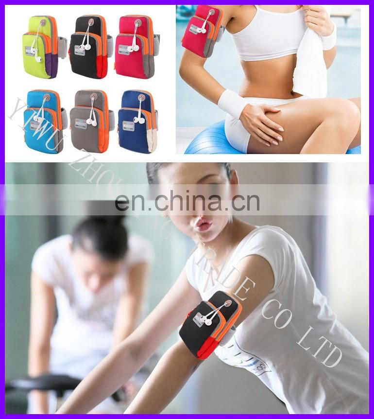 2016 New style two sizes sports mobile arm package set of men and women running use arm bag