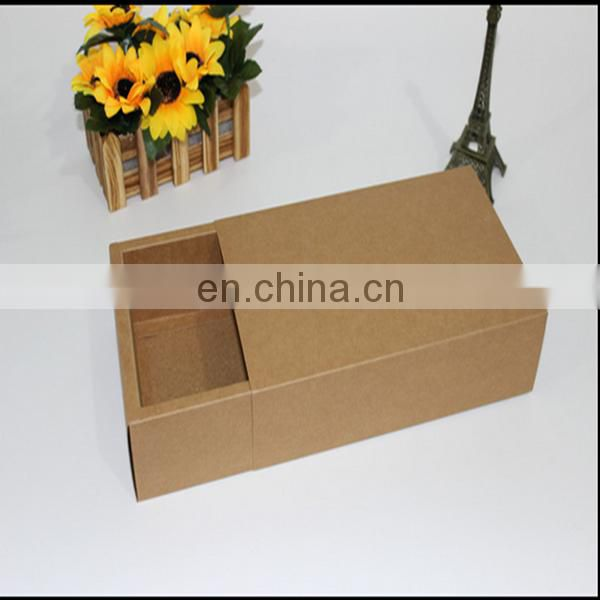 Hot sale in USA nice design flat pack shipping paper box for phone