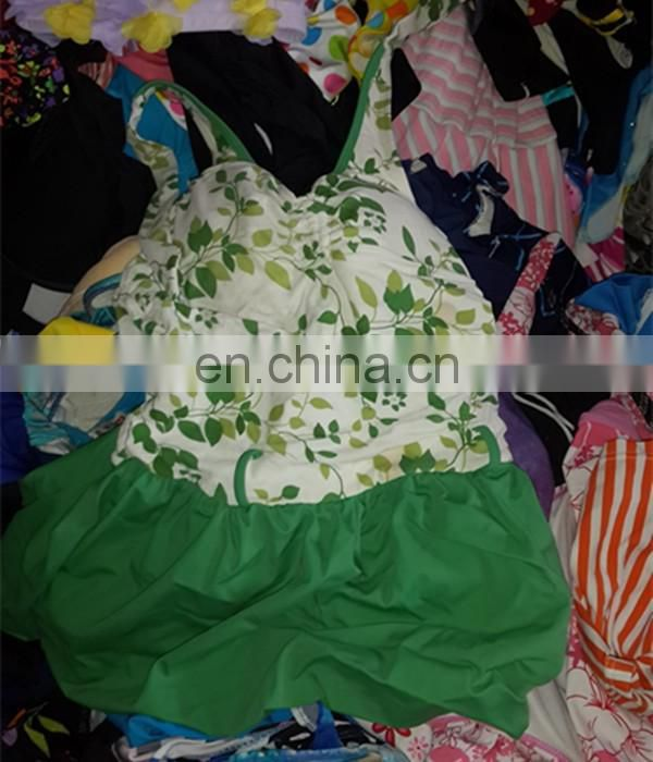 Used jersey clothing used adult cotton spots wear used clothes swimming suit