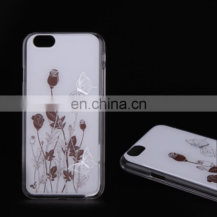 Oem Phone Cover Cute Design Tpu Pc Cell Phone Case For Iphone 6 For