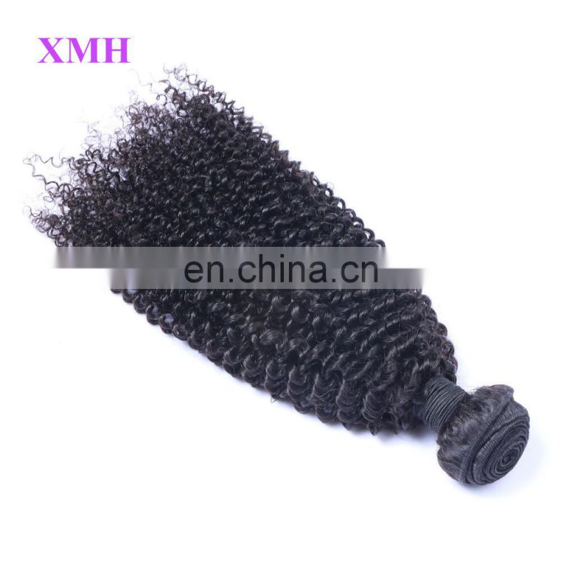 Popular Human Wholesale Virgin Hair Bundles Weaving Mongolian Kinky Curly Virgin Human Hair