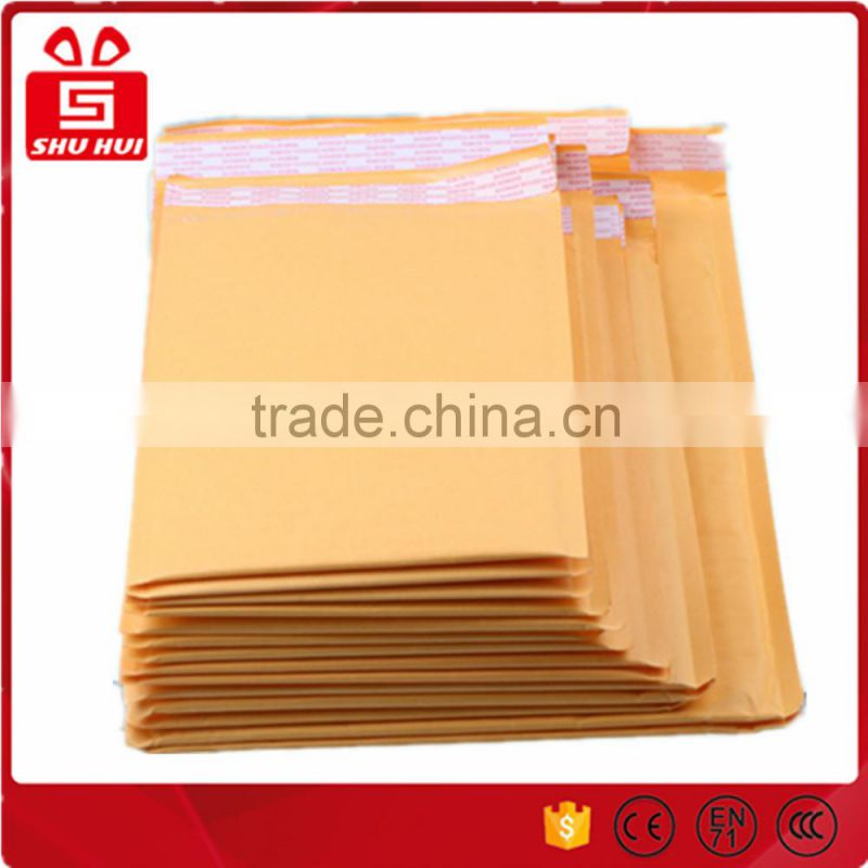 Air cushioned bag kraft paper envelopes bubble bags compound pe making machine