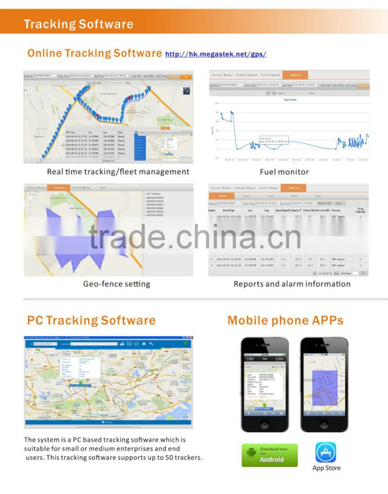 2014 hot sale IP66 animal gps tracking device