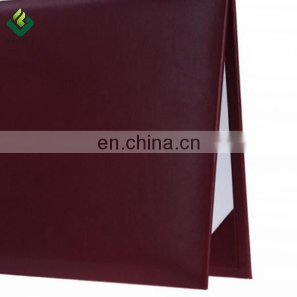Imprinted Diploma Covers -Maroon Color