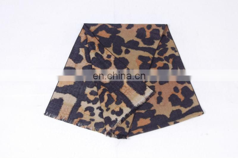 Leopard Printed Hot Selling Winter Scarf