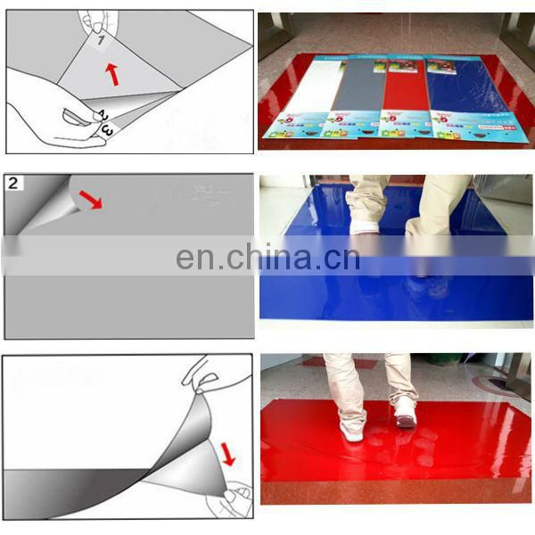 ldpe film Sticky Floor Mat