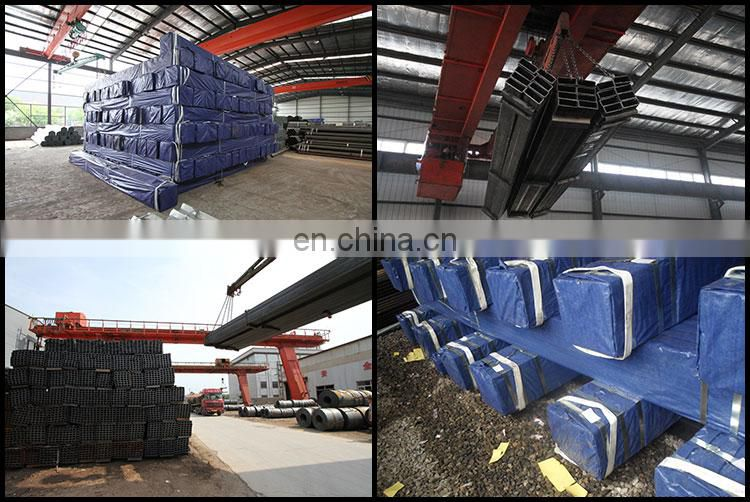 30x30mm Black square tube hollow section steel pipe, 40*40mm square steel pipes