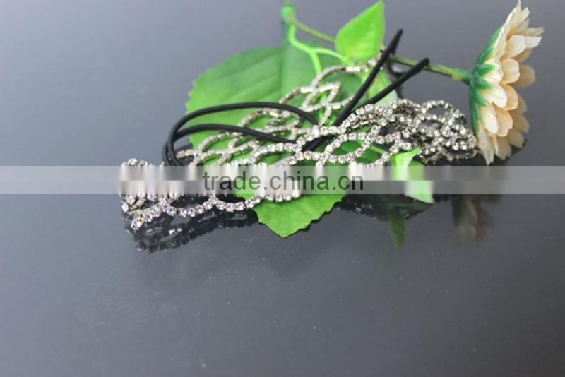 Hair Accessory, Elastic Hair Band, Fashion Crystal Head Band Jewelry Hair Ornament SF1031