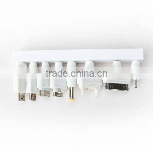 10in1,AC USB Travel Charger+Car Charger+USB Data Cable for Apple, Nokia, Samsung, HTC, BlackBerry...
