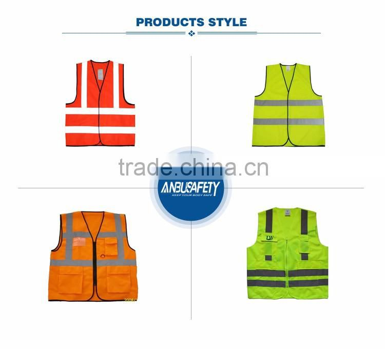 Waterproof clothing free proofing ansi reflective safety vest