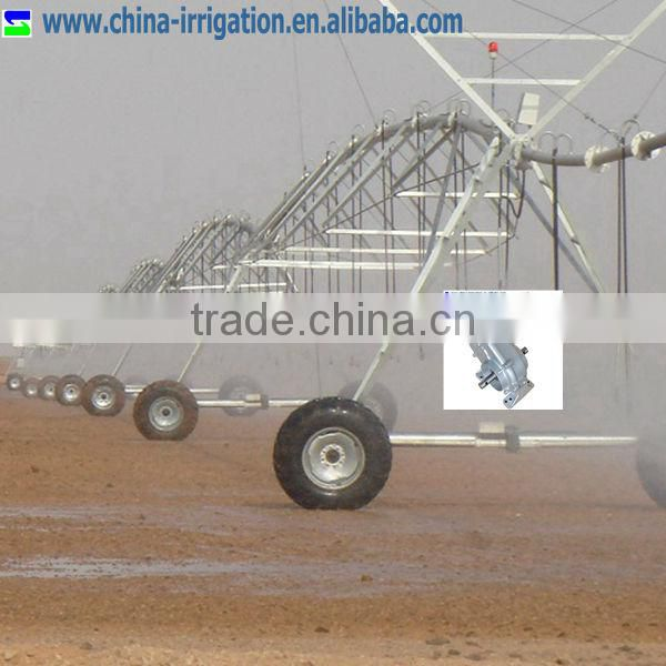 Gear motor for center pivot irrigation system