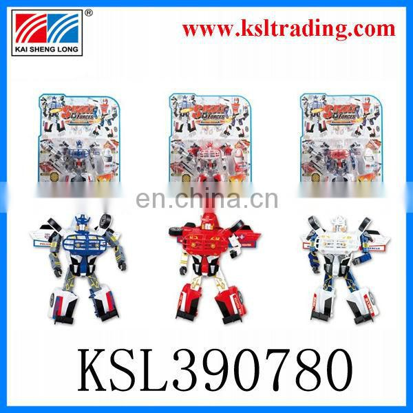 plastic model robot toys for promotional