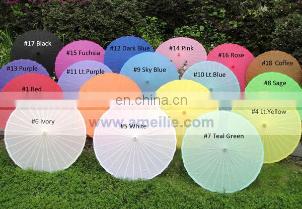 A6210 Silk umbrella with flower patterns