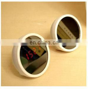 Best seller mirror alarm clock promotional digital clock girls digital alarm clocks