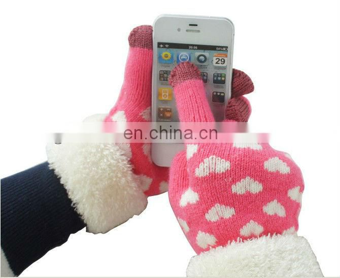 Smart Finger Touch Gloves,touch phone ipad computer screen gloves keep warm in winter