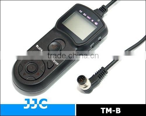 JJC TM-B Timer Remote Controller&Camera Remote Switch for NIKON MC-36/KODAK/FUJIFILM for Nikon D1H etc