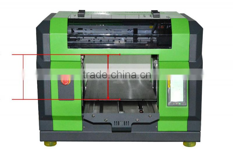 High Quality Automatic Inkjet Flatbed Printer signs cloth wrapping paper printing machine