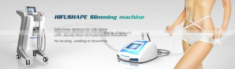 CE approved 3 years warranty ultrasonic cavitation hifu body slimming machine