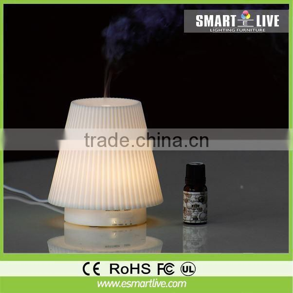 Ultrasonic LED Air Humidifer Purifier Aroma diffuser