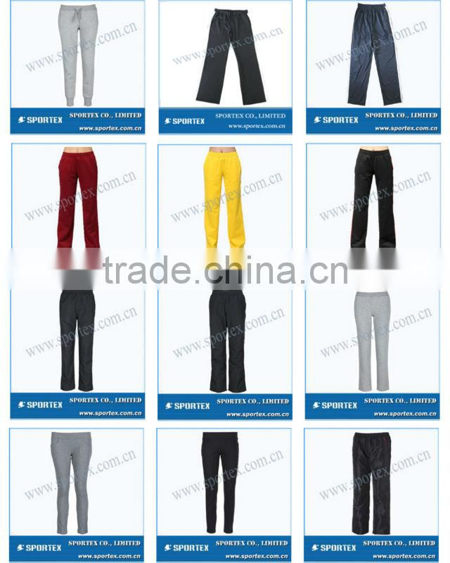 SPT-R1312 Quick dry jogging pants for ladies, ladies quick dry jogging pants, ladies long jogging pants
