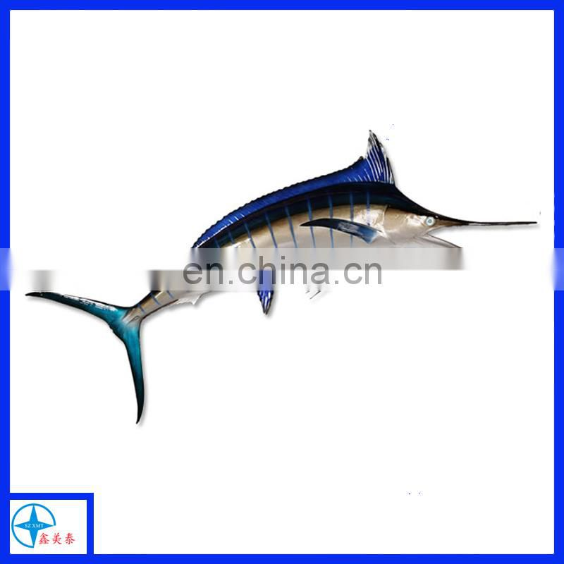 dorado fish figure for wall decoration