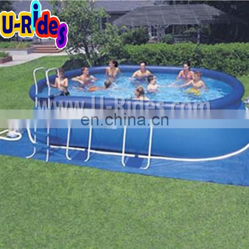 round inflatable swimming pool with ladder(PL-004)