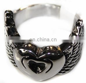 2014 Yiwu fashion stainless steel jewelry with finger designs ring