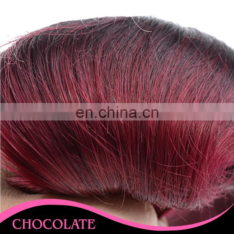 Fashion 1b/99J ombre color human hair extension hengyuan hair extensions vendors