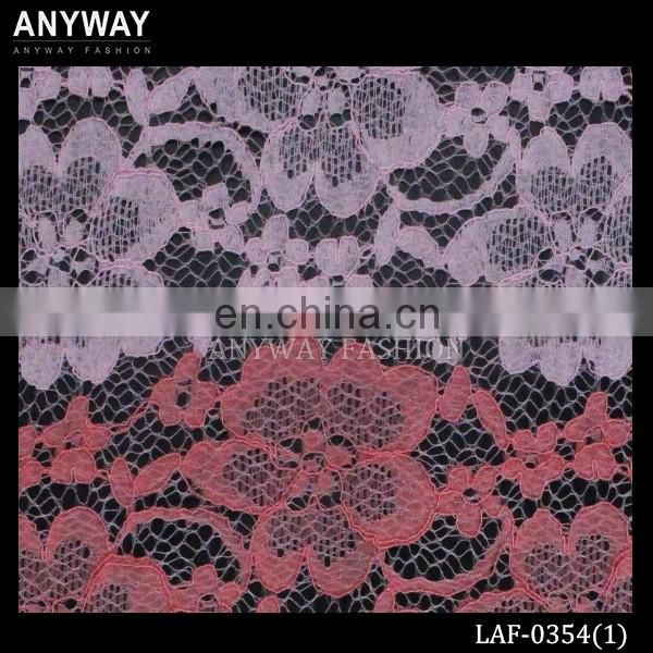 New fashion allover lace fabric wholesale swiss voile lace fancy lace textile fabric