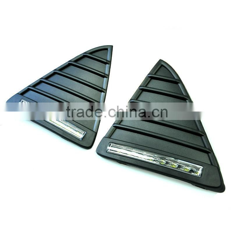 Car Focus LED DRL for Ford Focus 2013 (Front Triangular Grille With LED daytime running light)