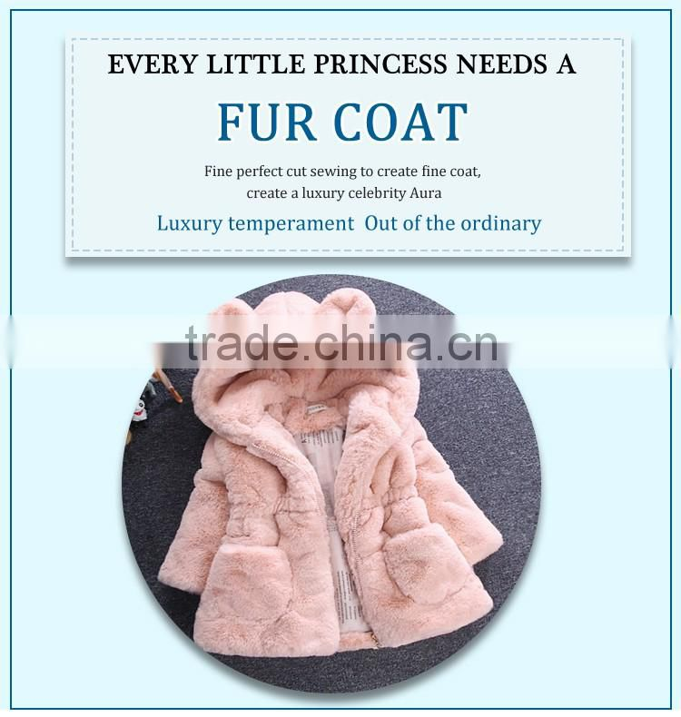 baby sweater design children clothes winter fake fur coat