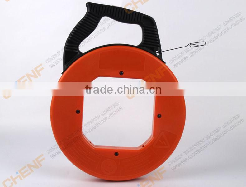 Hand-held Wire pulling and conduit fiberglass duct rodder steel wire threading device Dredge pipeline tools