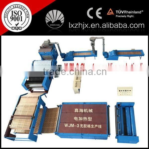 Nonwoven cross lapper machine for waddings/QUILTS production line , cross lapping machine