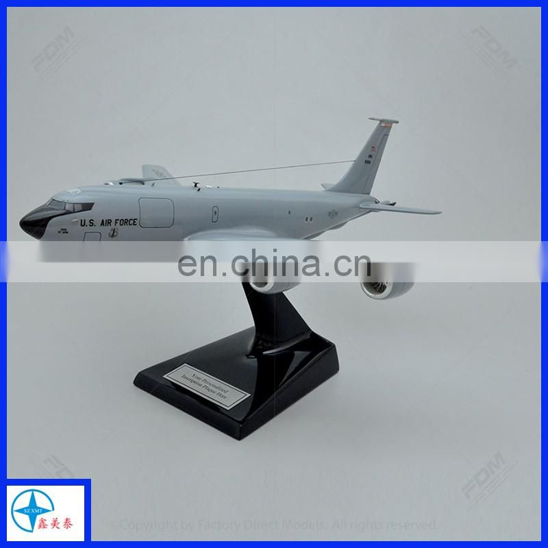 Newest design resin airplane model for sale