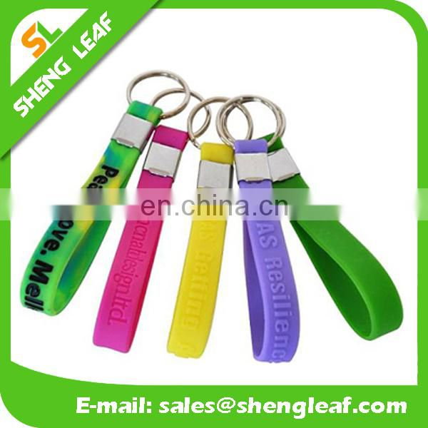 Best Selling Products cuatom Silicone Keychain