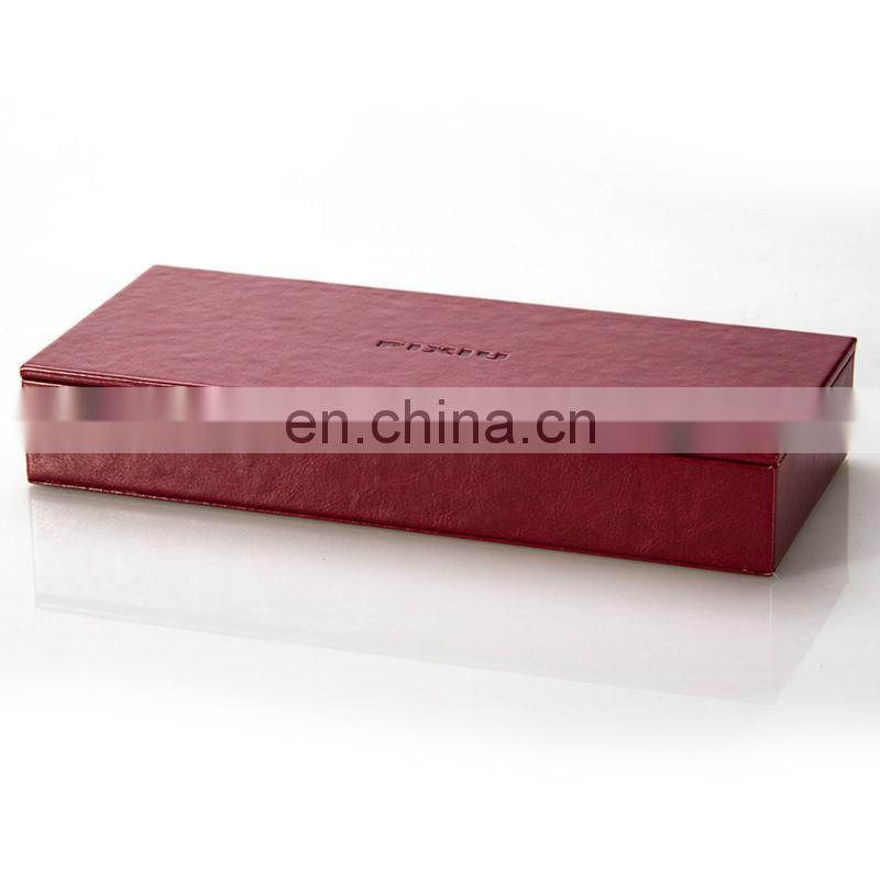 Office Dest Set Newly Design Pen Case in Qualitied PU Leather