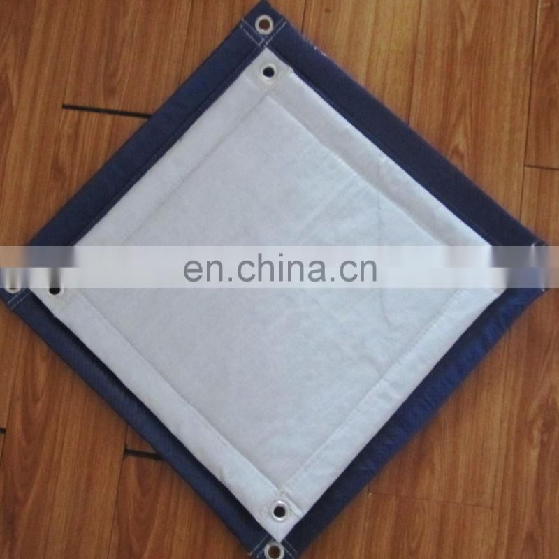 cheap white concrete curing blanket insulated tarp