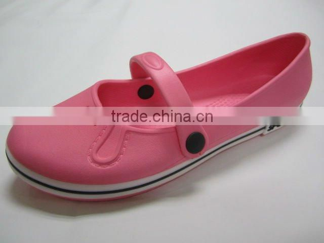 2013 Women's medical flat Chalet Shearling Easy-flex cartoon Clogs Shoes from jinjiang