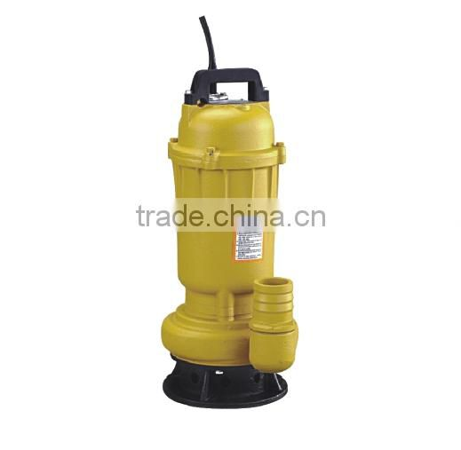 1hp 2inch anti sand submersible sewage pump for industrial use