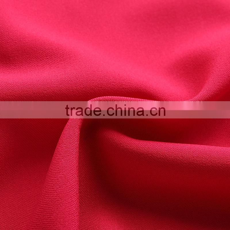 China supplier 100% Polyester shiny Workwear Uniform Twill brushed Fabric