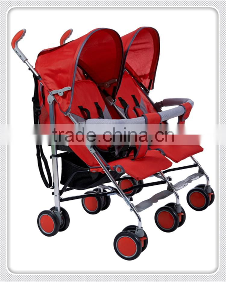 2015 best selling products multifunctional high quality convenient baby twin stroller double china manufacturer